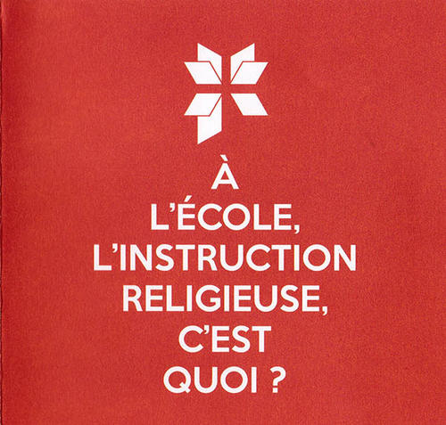 Livret Instruction Religieuse - 1