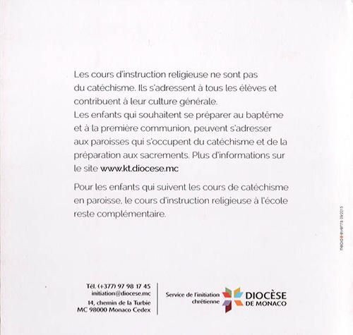 Livret Instruction Religieuse - 2