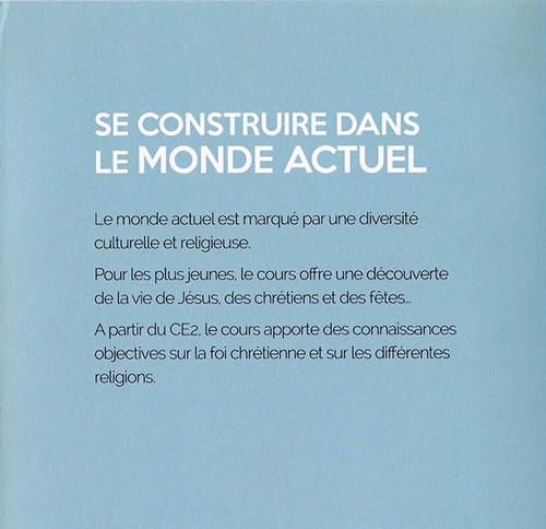 Livret Instruction Religieuse - 8